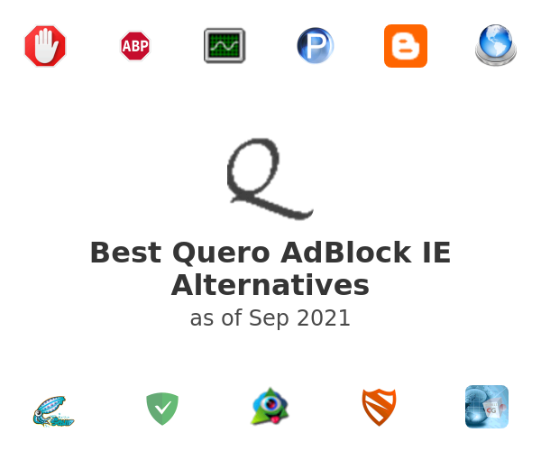 Best Quero AdBlock IE Alternatives