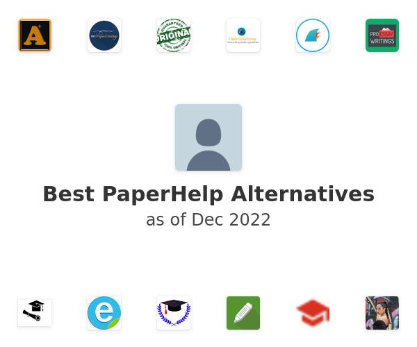 Best PaperHelp Alternatives