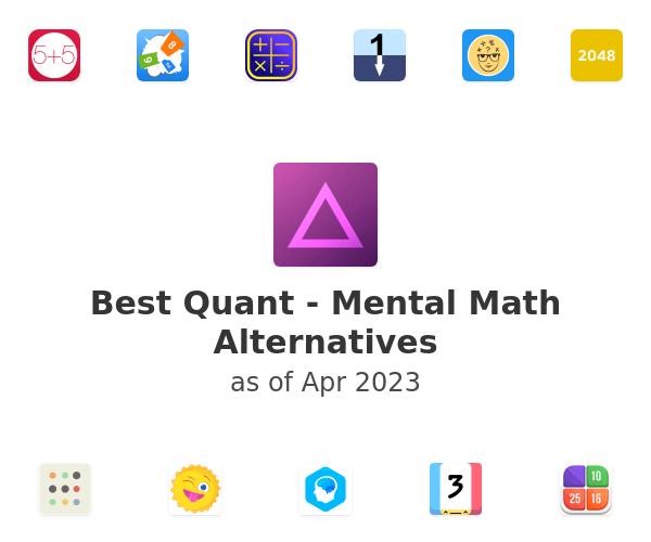 Best Quant - Mental Math Alternatives