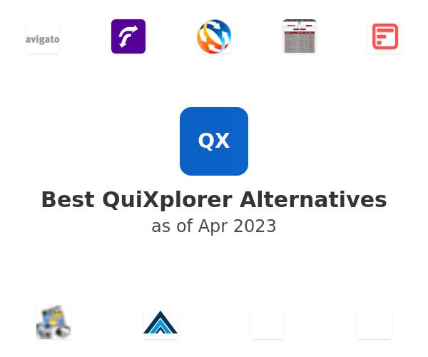 Best QuiXplorer Alternatives