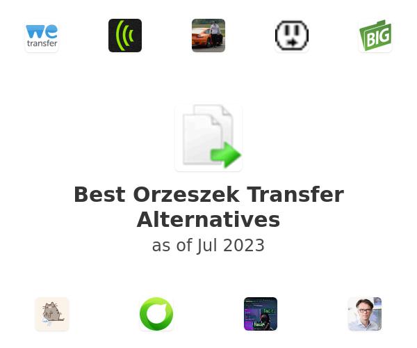 Best Orzeszek Transfer Alternatives