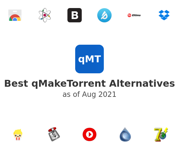 Best qMakeTorrent Alternatives