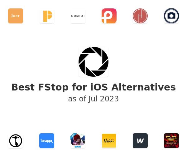 Best FStop for iOS Alternatives