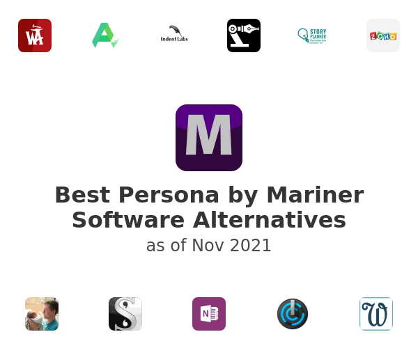 Best Persona by Mariner Software Alternatives