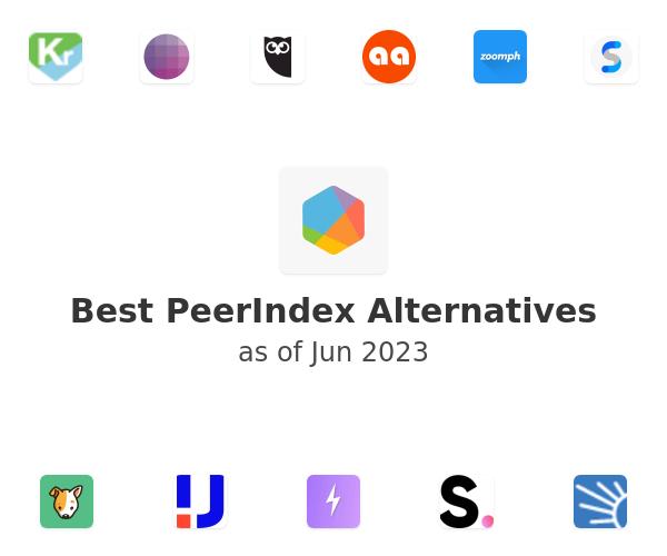 Best PeerIndex Alternatives
