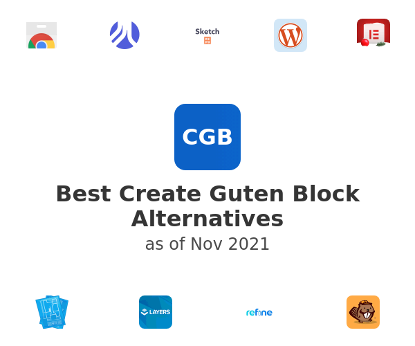 Best Create Guten Block Alternatives