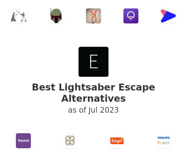 Best Lightsaber Escape Alternatives