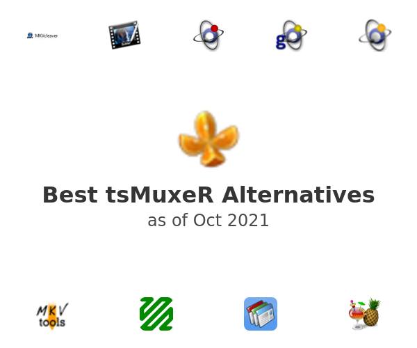 Best tsMuxeR Alternatives