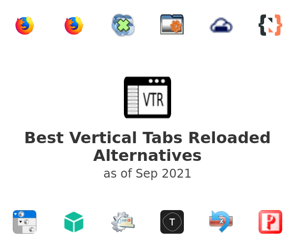 Best Vertical Tabs Reloaded Alternatives