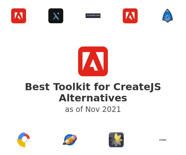 Best Toolkit for CreateJS Alternatives