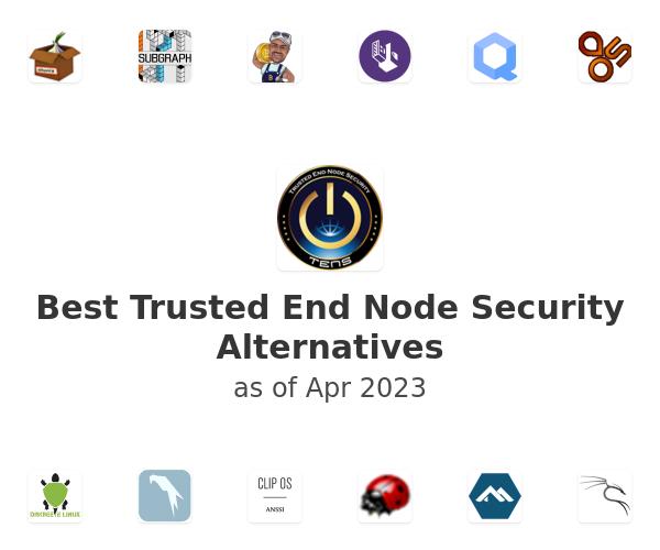 Best Trusted End Node Security Alternatives
