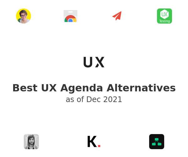 Best UX Agenda Alternatives