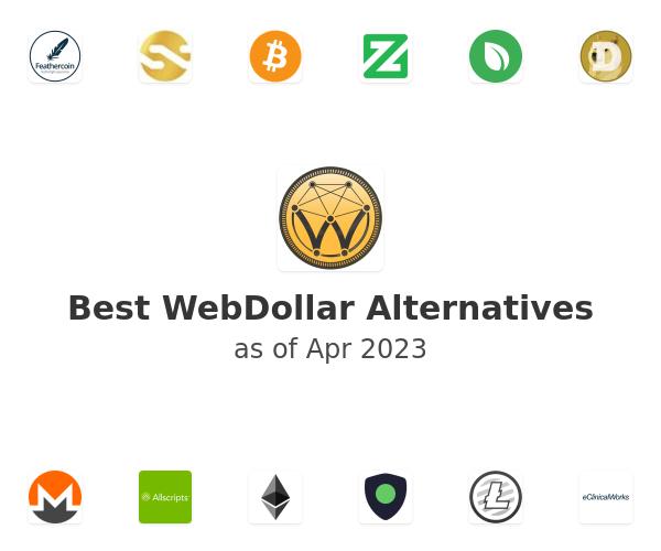 Best WebDollar Alternatives