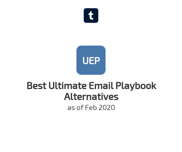 Best Ultimate Email Playbook Alternatives