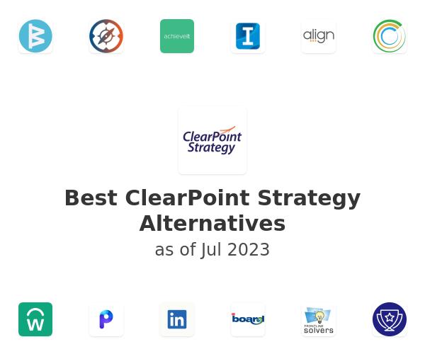 Best ClearPoint Strategy Alternatives