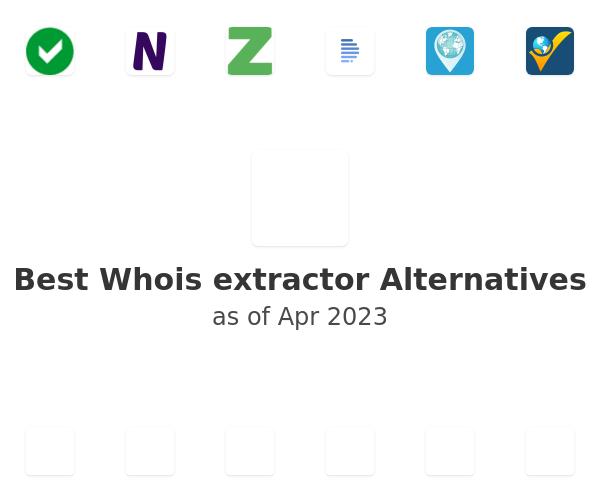 Best Whois extractor Alternatives