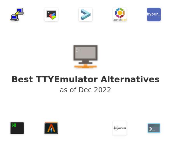 Best TTYEmulator Alternatives