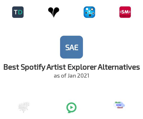 Best Spotify Artist Explorer Alternatives