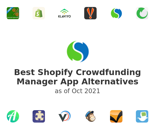 Best Shopify Crowdfunding Manager App Alternatives