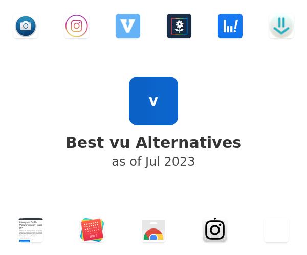 Best vu Alternatives