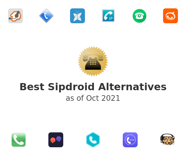 Best Sipdroid Alternatives