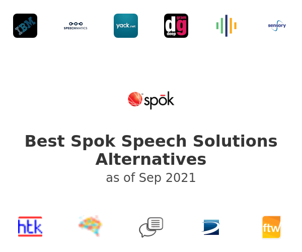 Best Spok Speech Solutions Alternatives
