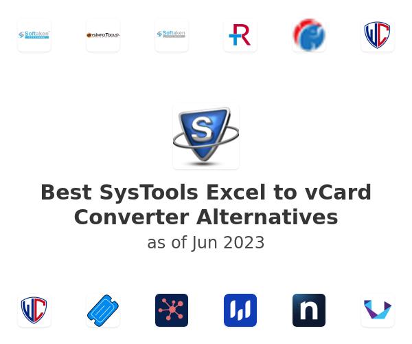 Best SysTools Excel to vCard Converter Alternatives