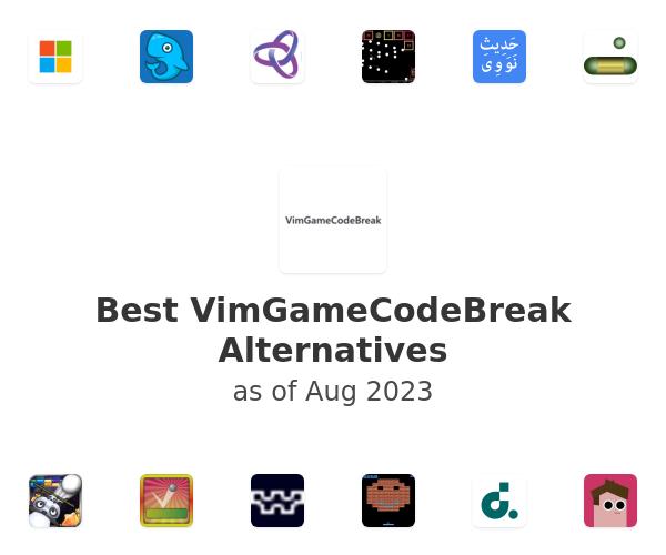 Best VimGameCodeBreak Alternatives