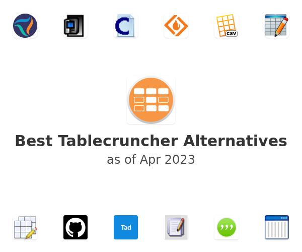 Best Tablecruncher Alternatives