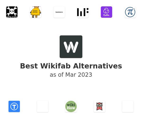 Best Wikifab Alternatives