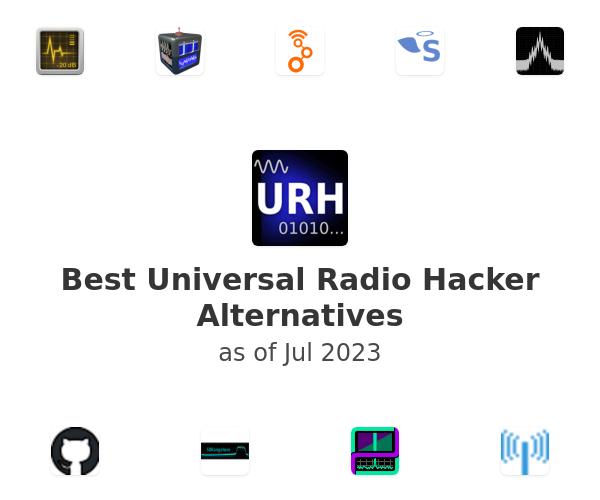 Best Universal Radio Hacker Alternatives