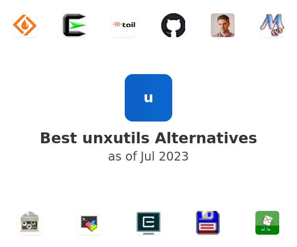 Best unxutils Alternatives