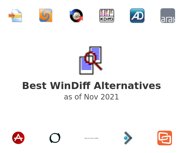 Best WinDiff Alternatives