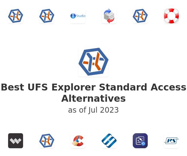 Best UFS Explorer Standard Access Alternatives