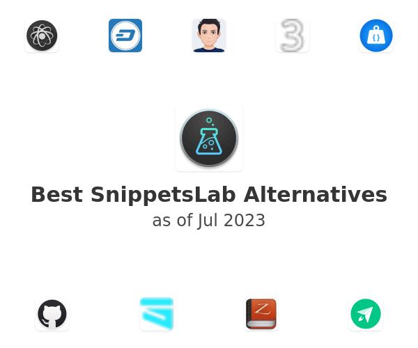 Best SnippetsLab Alternatives
