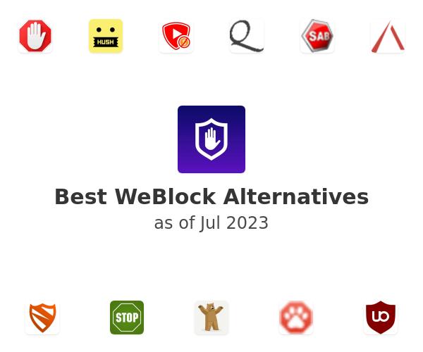 Best WeBlock Alternatives