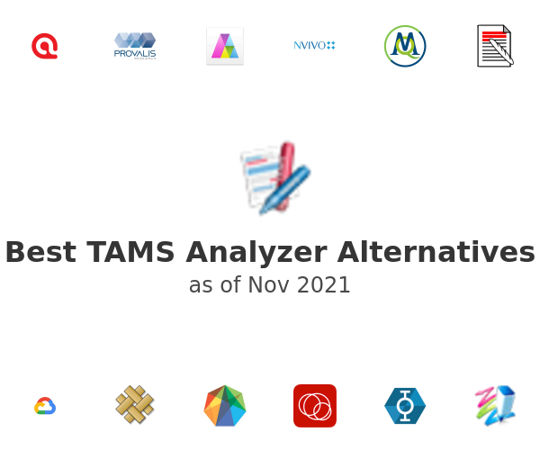 Best TAMS Analyzer Alternatives