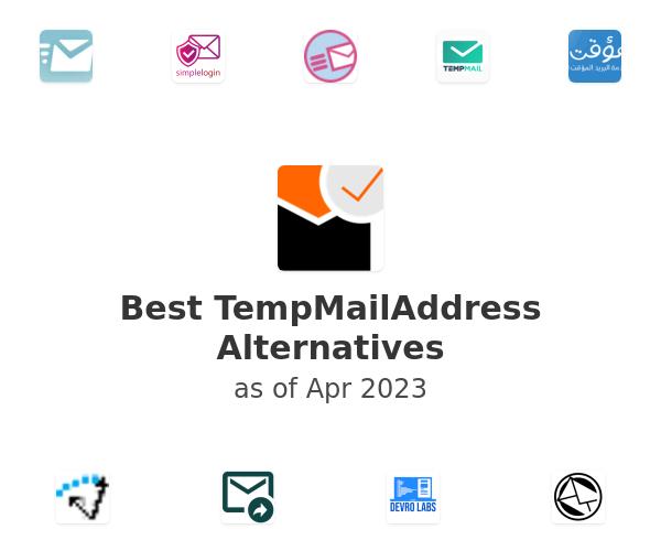 Best TempMailAddress Alternatives