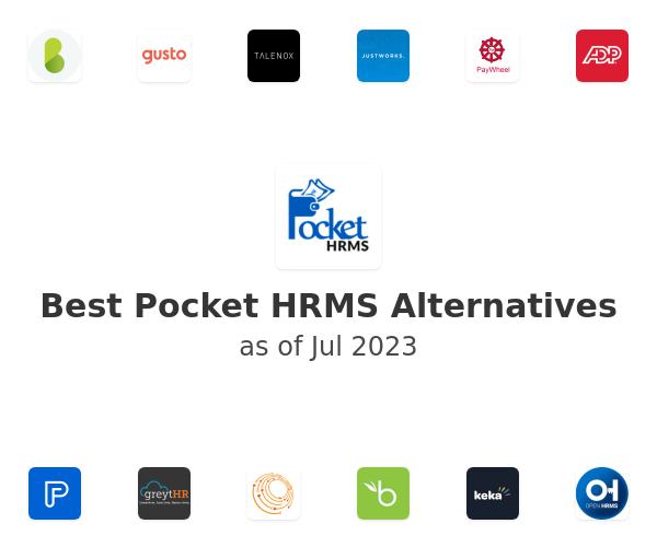 Best Pocket HRMS Alternatives
