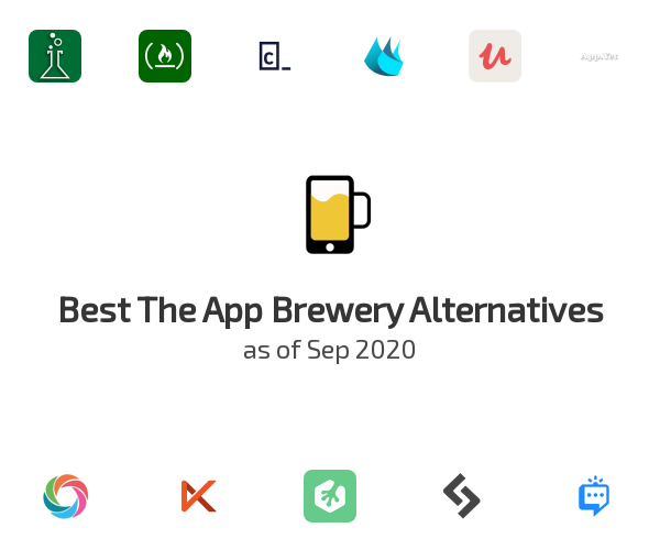 Best The App Brewery Alternatives