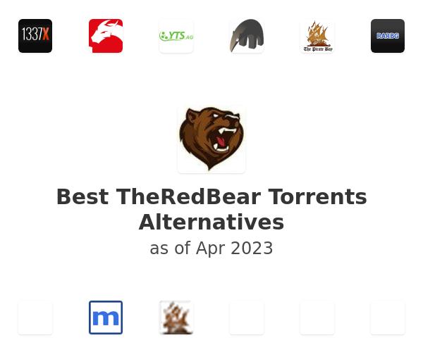 Best TheRedBear Torrents Alternatives