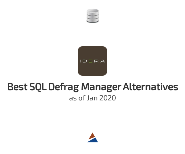 Best SQL Defrag Manager Alternatives