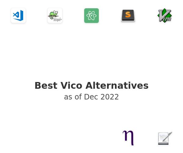 Best Vico Alternatives