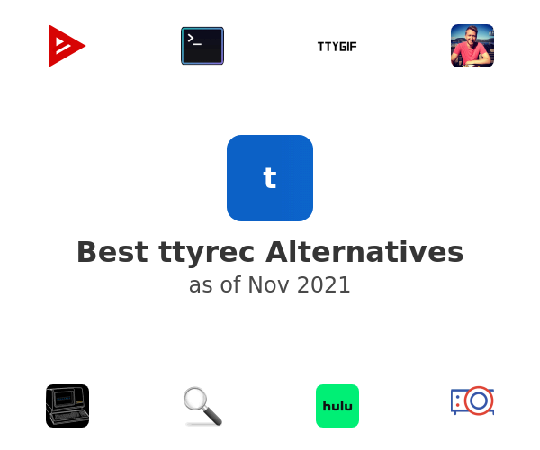 Best ttyrec Alternatives