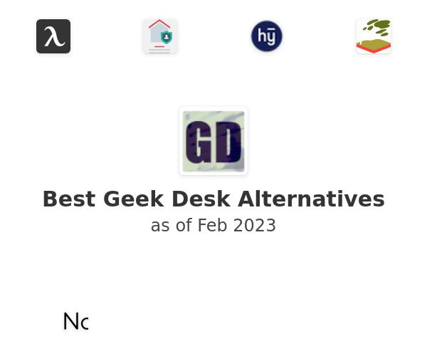 Best Geek Desk Alternatives