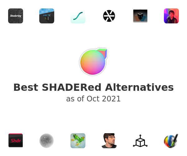 Best SHADERed Alternatives