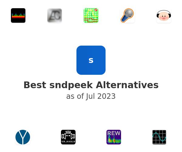 Best sndpeek Alternatives