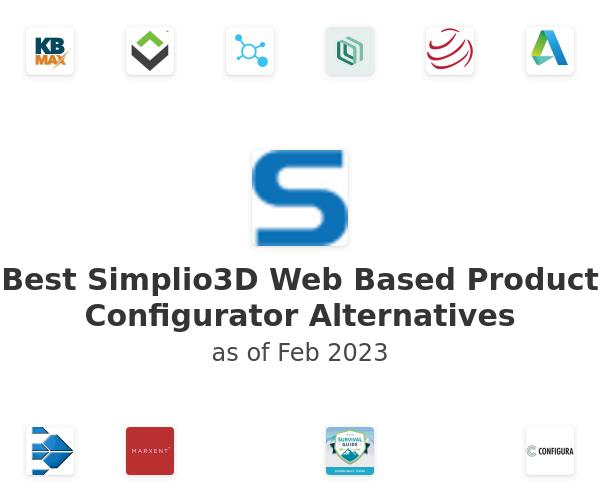 Best Simplio3D Web Based Product Configurator Alternatives