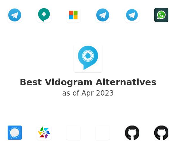 Best Vidogram Alternatives