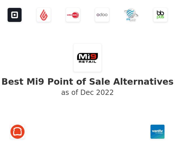 Best Mi9 Point of Sale Alternatives